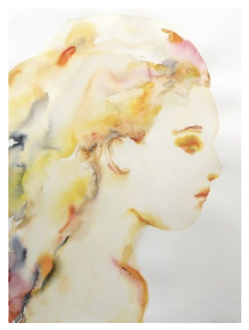 """""""Untitled (Girl's Side),"""" 2007, by Kim McCarty. $8,125"""