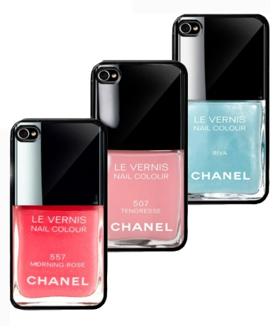 Chanel Nail Polish iPhone Case