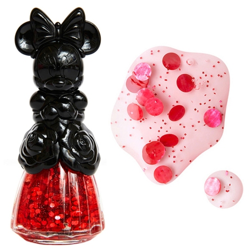 Anna Sui Minnie Mouse Nail Color in Passion Red, available here.
