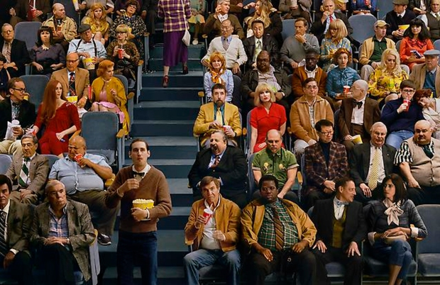 Alex Prager, Crowd #9 (Sunset Five), 2013, archival print, 59.5 x 91.85 inches