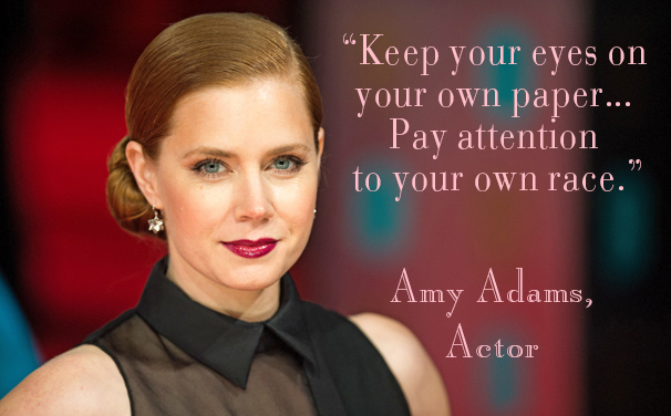 Amy Adams Motivation