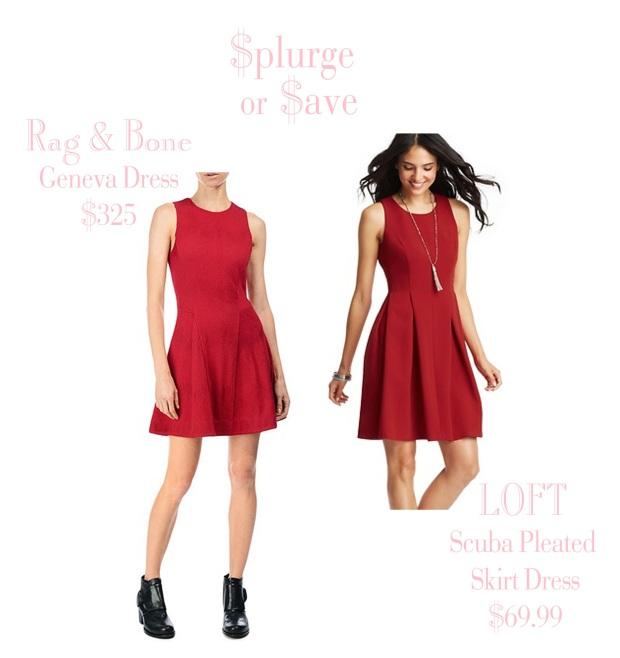 Red Dress - Splurge or Save