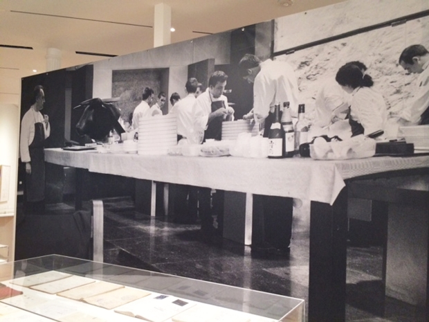 A blow-up of El Bulli's kitchen.