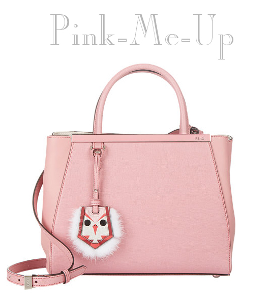 Bona Style Fendi 2Jours Bag in pink