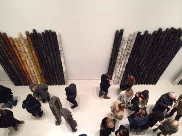 A View From The Top: The opening reception for Helmut Lang's sculptures exhibit at Sperone Westwater