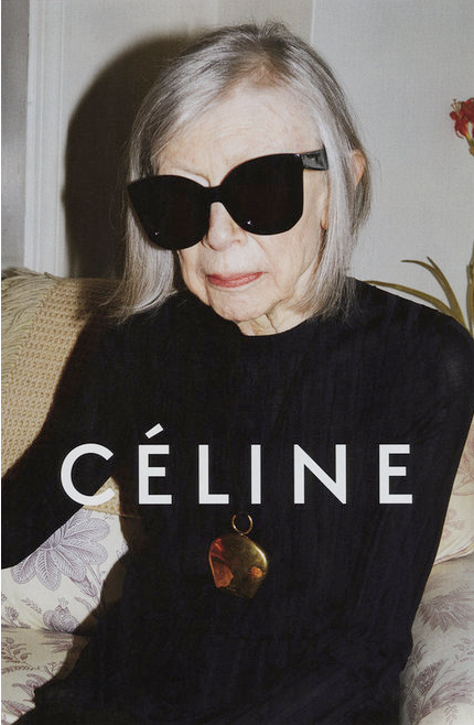 Joan Didion for Celine - on Bona Style