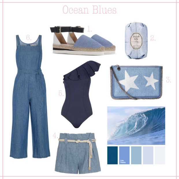 Ocean Blues - Summer Denim